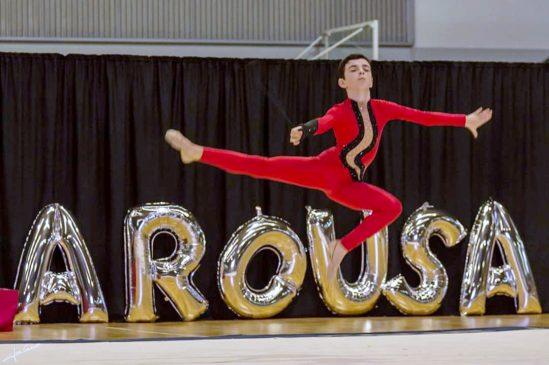 Los gimnastas pavillonistas preparados para su salto a la rítmica masculina nacional