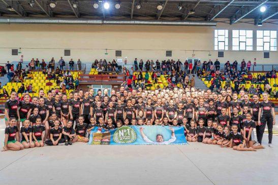 Ximnasia Pavillón Ourense e Escola Pavillón presentaron a nova temporada de rítmica