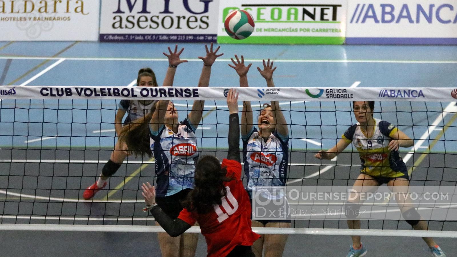 Aceites Abril Voleibol Foto Martinez