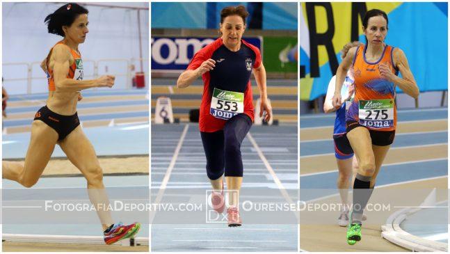 Siete medallas para las atletas ourensanas en Campeonato de España máster