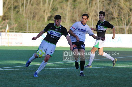 L.N. Juvenil: Pabellón remonta al Ourense CF por dos veces para firmar tablas