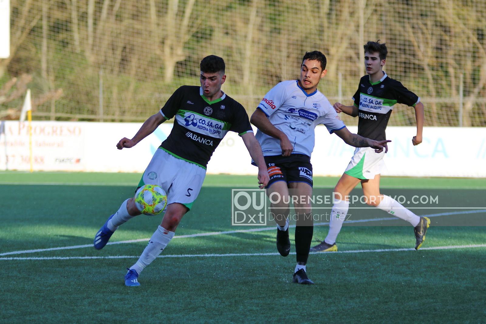 Ourense CF Pabellon CF Juvenil Foto Martinez